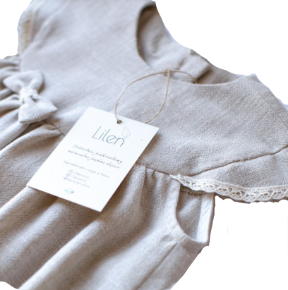 LILEN - Liwia Natural Dress - Yuugen Store