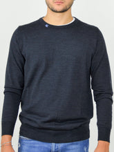 Load image into Gallery viewer, FORTUNALE - ALFA Men's Wool Sweater / Navy