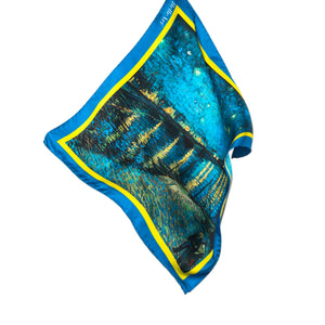 BELLEART- Pocket square / Vincent van Gogh – Starry Night Over the Rhône - Yuugen Store