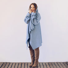 Load image into Gallery viewer, OLGA POKRYWKA - Blue Blanket Jacket - Yuugen Store