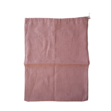 Load image into Gallery viewer, MIKROKLIMAT - Multipurpose Linen Bag / Pink