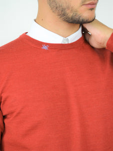 FORTUNALE - BETA Man's Wool Sweater / Red