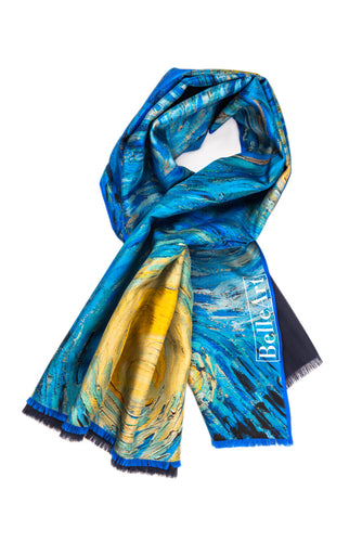 BELLEART- Shawl / Vincent van Gogh – Starry Night - Yuugen Store