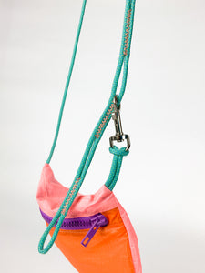 TheVIVgoods - U.Bag x Paraglider Edition / multicolour - purple zip
