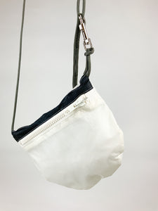 TheVIVgoods - U.Bag x Paraglider Edition / white black - white zip