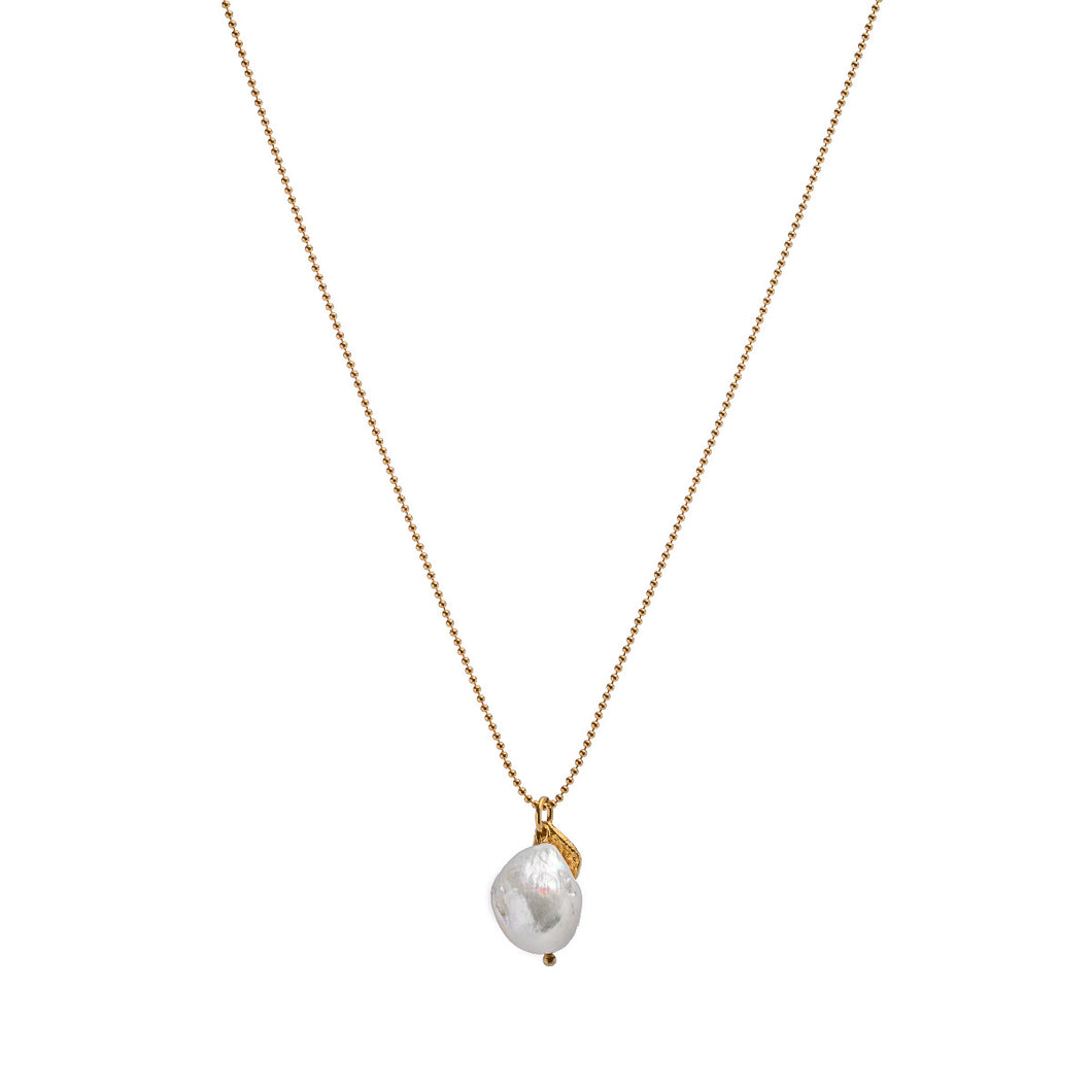 EVA JEWELLERY - Necklace With Irregular Pearl