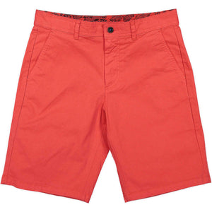 PANAREHA - TURTLE Bermuda Shorts / Light Red