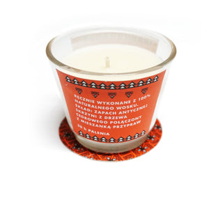 "BOOKU - ""Mystery of Carpathian Mountains"" Candle"