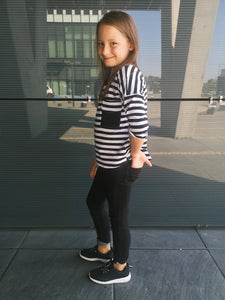 OJ TAM LITTLE - Striped Blouse - Yuugen Store