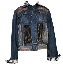 Load image into Gallery viewer, EXPRIMERE_TE - Vintage All Saints Denim Jacket
