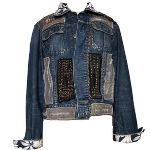 EXPRIMERE_TE - Vintage All Saints Denim Jacket