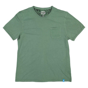 PANAREHA - MARGARITA Pocket T-shirt / Green