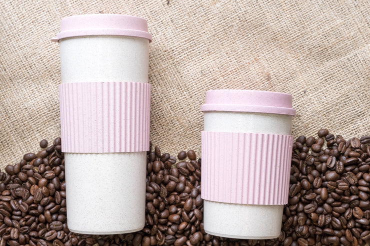 EcoShack Wheat Straw Coffee Cups - EcoShackNZ
