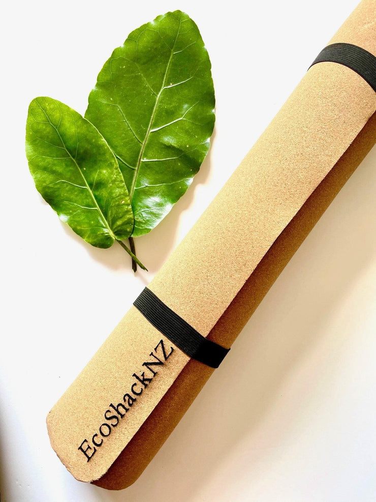 EcoShack Natural Cork Yoga Mat