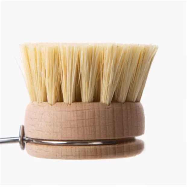 EcoShack Plastic-Free Dish Brush with Replaceable Head - EcoShackNZ