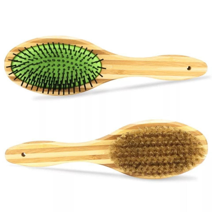 EcoShack Bamboo Pet Brush - EcoShackNZ