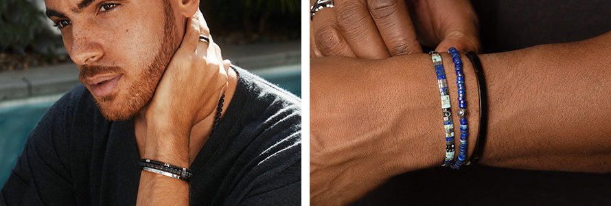 MEN'S BRACELET STACKS