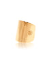 Tube Ring in Gold - Nialaya Jewelry  - 1