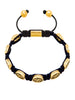 Men's Beaded Bracelet with Nialaya Gold Signature Bead - Nialaya Jewelry  - 1