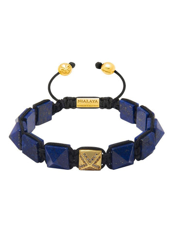 Men's Himalaya Collection - Blue Lapis and Gold