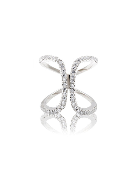 Nialaya Fashion Ring Silver - Nialaya Jewelry  - 1