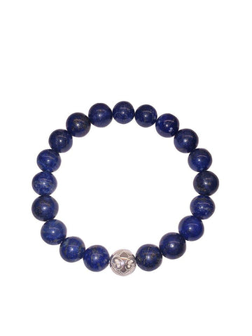 Men's Wristband with Blue Lapis