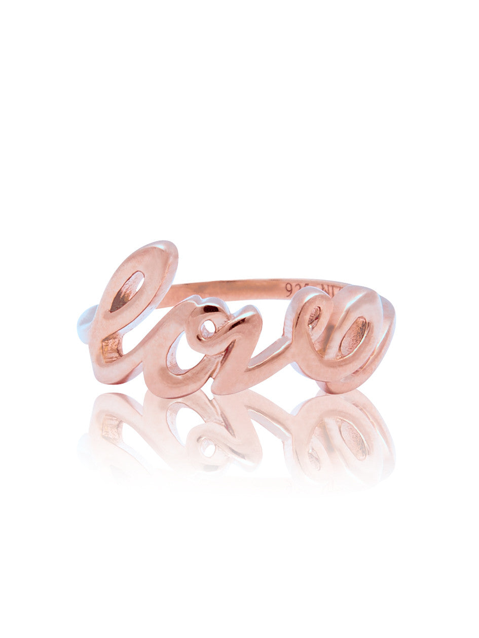 Love Ring Rose Gold - Nialaya Jewelry