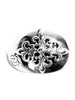 Sterling Silver Crest Ring - Nialaya Jewelry  - 3