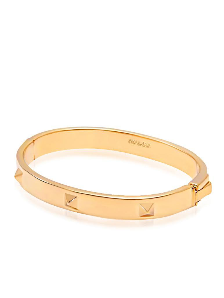 Skyfall Gold Stud Bangle