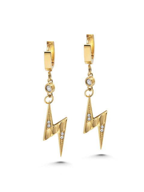 Skyfall Flash Earrings - NIALAYA INC