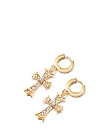 Skyfall Cross Earrings