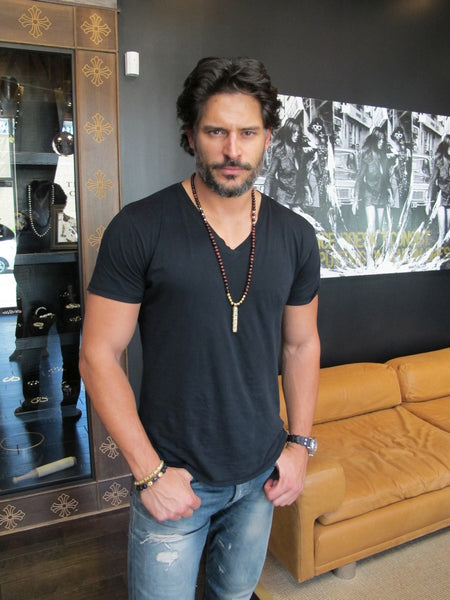 Joe Manganiello - Nialaya Jewelry
