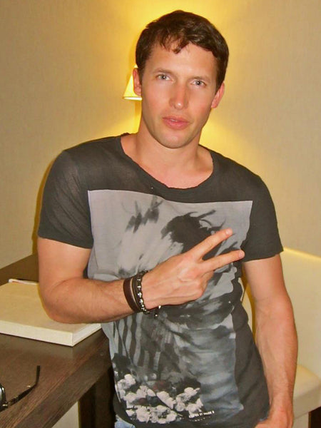 James Blunt - Nialaya Jewelry  - 1
