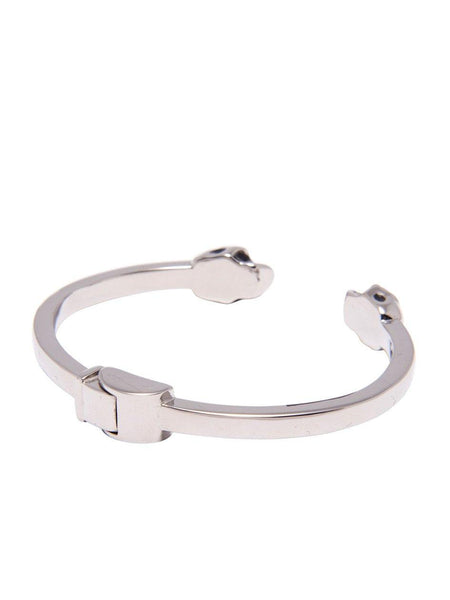 Men's Silver Skull Bangle - Nialaya Jewelry  - 3
