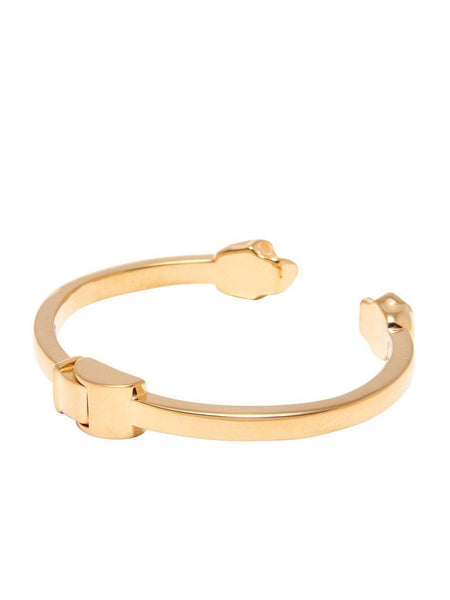 Men's Gold Skull Bangle - Nialaya Jewelry  - 3