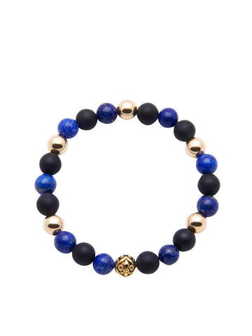 Men's Classic With Blue Lapis and Matte Onyx