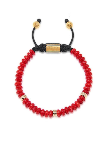 The Mykonos Collection - Red Jade and Gold