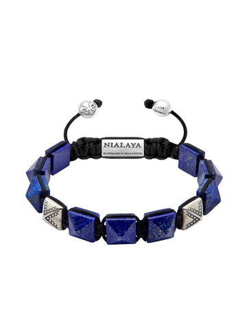 Men's Himalaya Collection - Blue Lapis and Silver