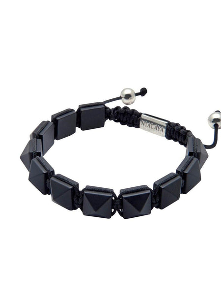 Men's Himalaya Collection - Matte Onyx - Nialaya Jewelry  - 3