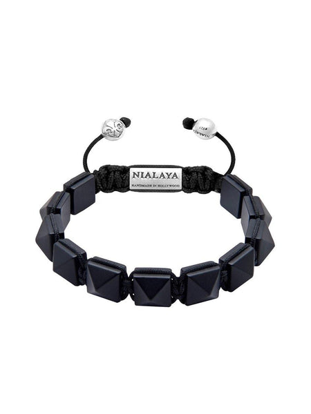 Men's Himalaya Collection - Matte Onyx - Nialaya Jewelry  - 1