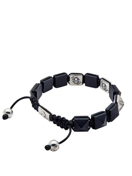 Men's Himalaya Collection - Matte Onyx and Silver - Nialaya Jewelry  - 4