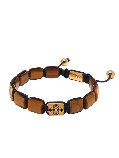 The Dorje Collection - Brown Tiger Eye and Gold