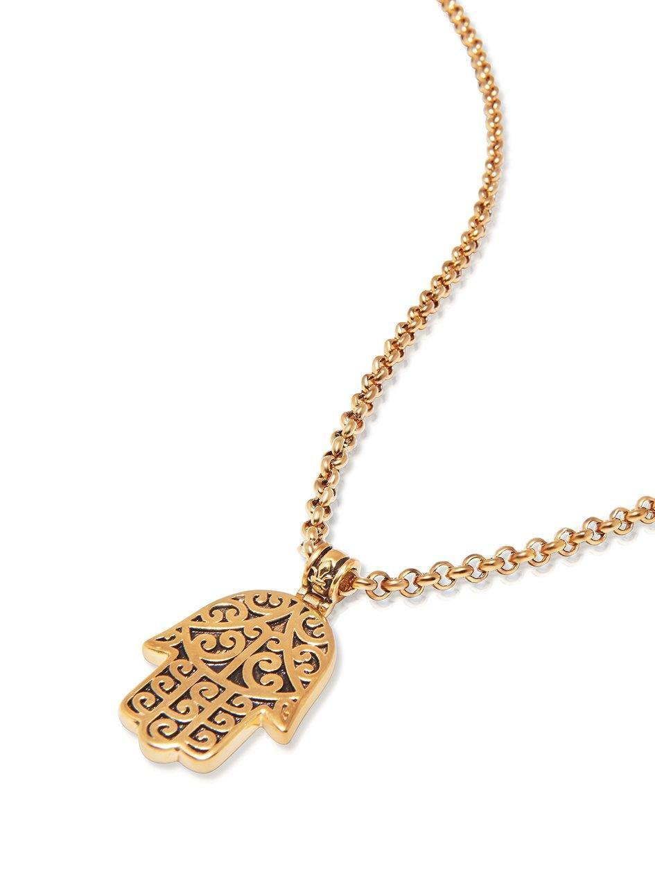 image plated hamsa gold hand sabo rose soul glam of necklace thomas women
