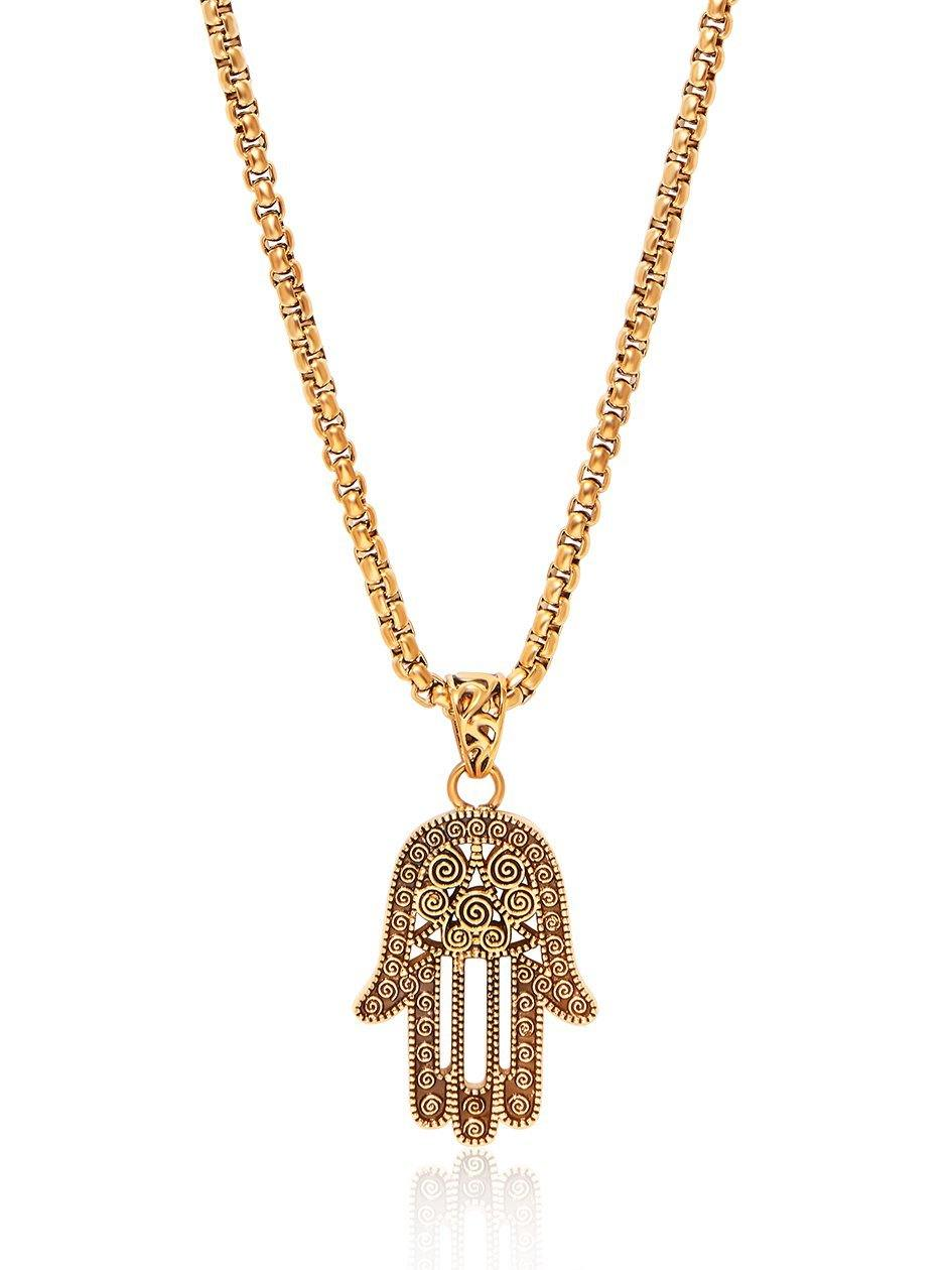 hand hamsa sabo thomas glittering john jewellery women of greed necklace image