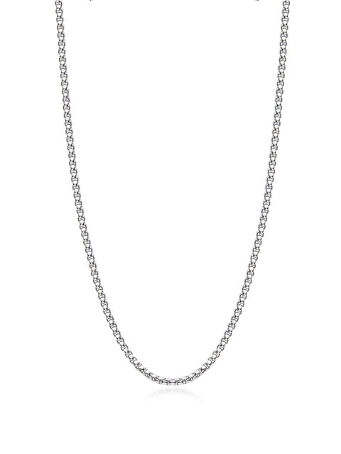 Men's Silver Chain - Nialaya Jewelry
