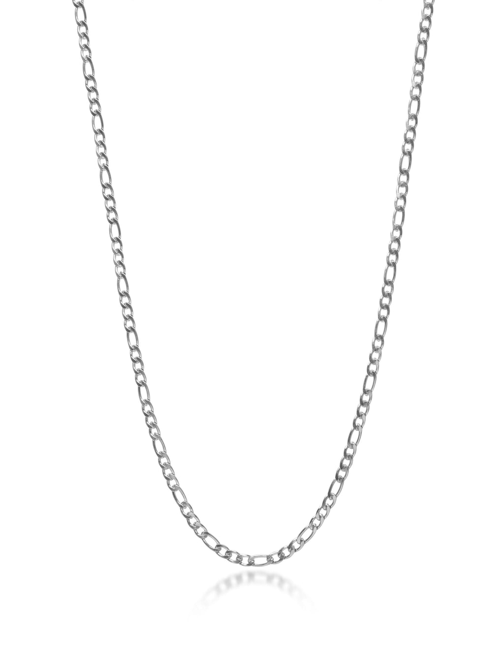 Men's Silver Figaro Chain