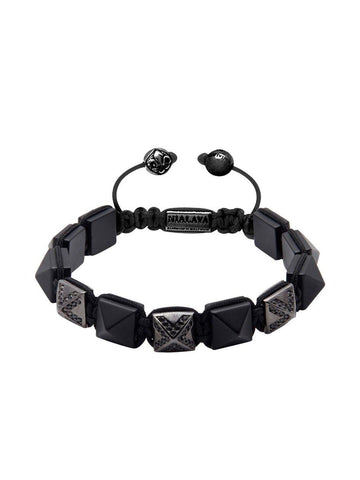 Men's Himalaya Collection - Matte Onyx and Black Rhodium with CZ Diamonds