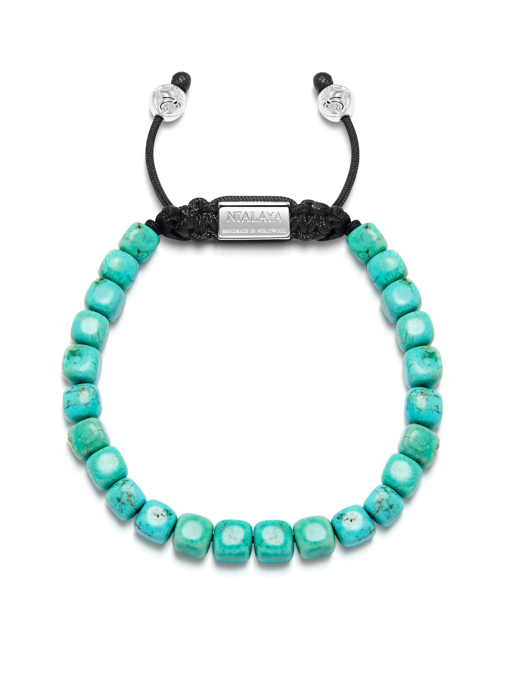 The Squared Bead Collection - Turquoise