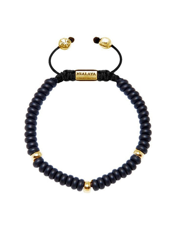 The Mykonos Collection - Matte Onyx and Gold