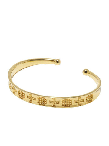 Men's Bangle in Gold
